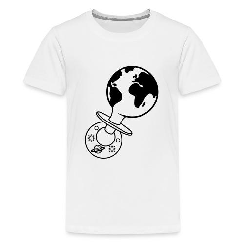world pacifier - Teenager Premium T-shirt