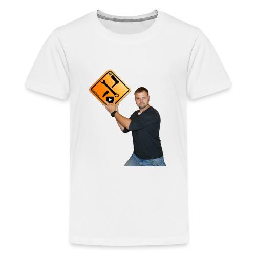 M1Molter + Logo - Teenager Premium T-Shirt