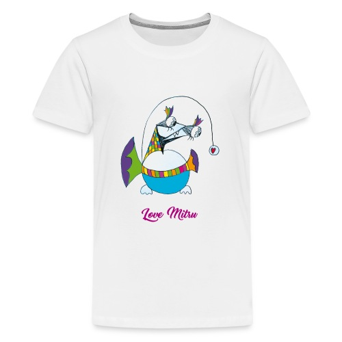 Love Mitru - T-shirt Premium Ado