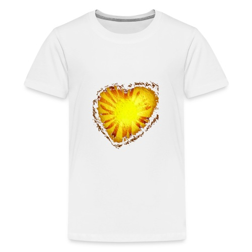 Cuore d'oro - Maglietta Premium per ragazzi