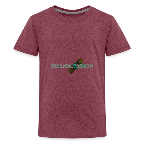 Resiliencempathy green - Maglietta Premium per ragazzi