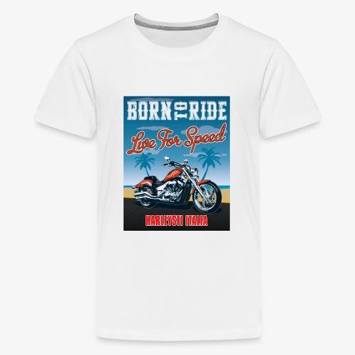 Summer 2021 - Born to ride - Maglietta Premium per ragazzi