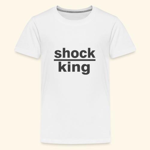 shock king funny - Maglietta Premium per ragazzi