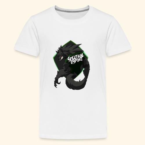 font logo spectral2 - T-shirt Premium Ado