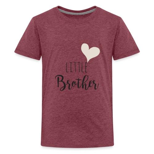 Little brother herz - Teenager Premium T-Shirt