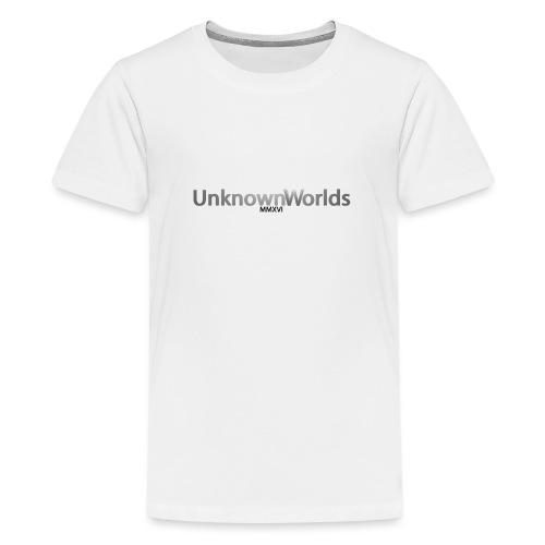 UnknownWorldsLang - Teenager Premium T-Shirt