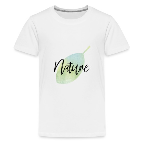 Nature - Camiseta premium adolescente