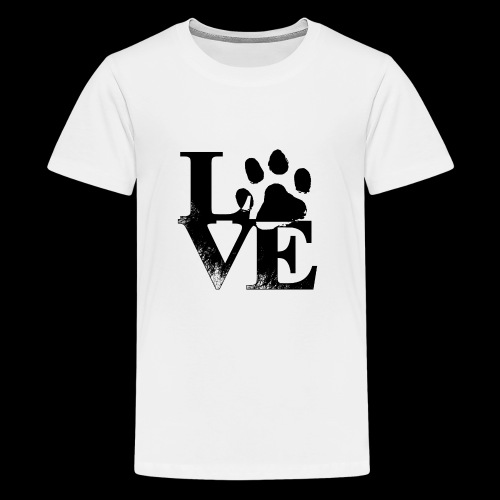 LOVE - T-shirt Premium Ado