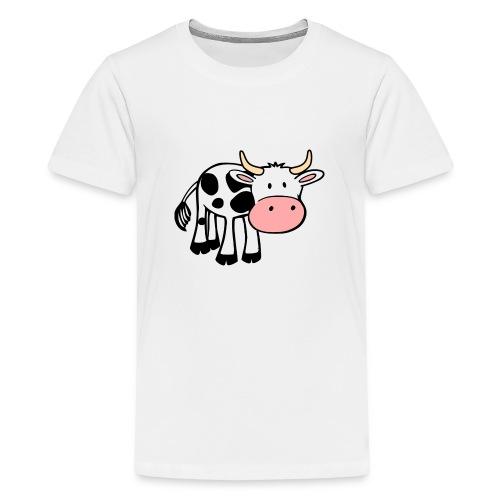 Cow - Camiseta premium adolescente