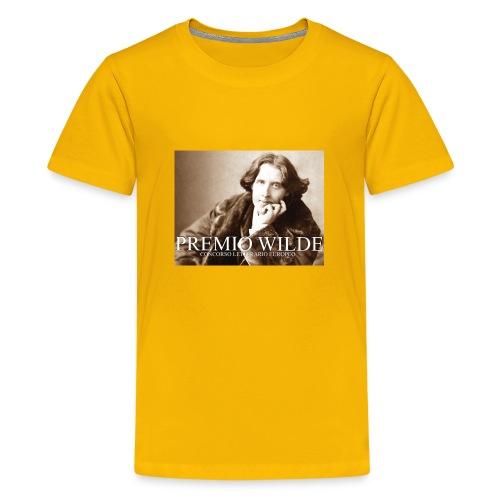 Wilde european award - Maglietta Premium per ragazzi