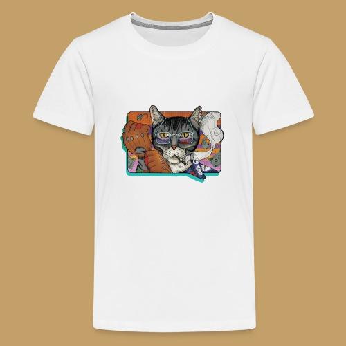 Crime Cat - Koszulka młodzieżowa Premium