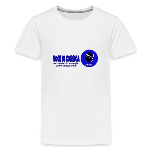 Voce di Corsica logo 1 - T-shirt Premium Ado