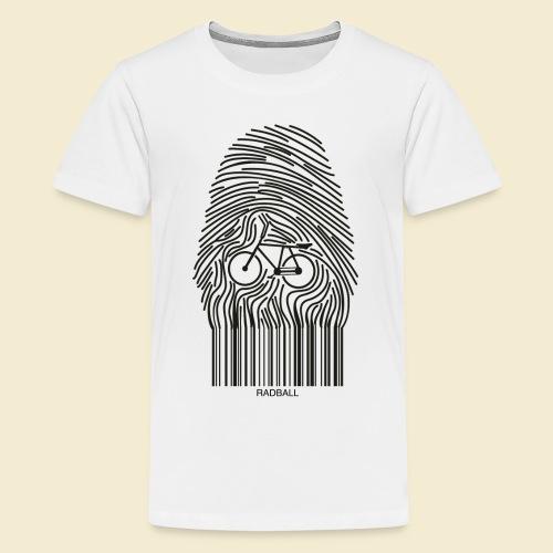Radball | Fingerprint - Teenager Premium T-Shirt