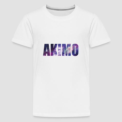 AKIMO Basic Galaxy - Teenager Premium T-Shirt