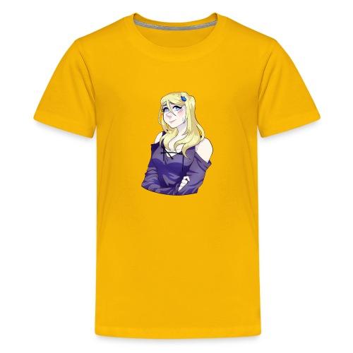Sad-chan v2 Arms Crossed - Teenage Premium T-Shirt