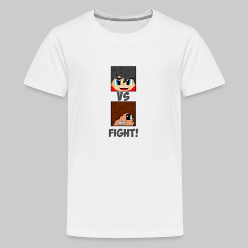 The Pixel FIGHT! - Teenage Premium T-Shirt