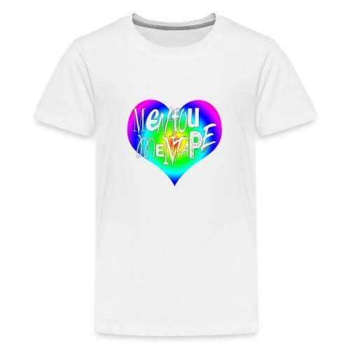 MENFOUMENTAPE Arc en ciel by Alice Kara - T-shirt Premium Ado