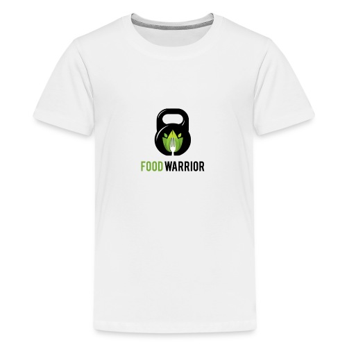 FoodWarrior Official Logo - T-shirt Premium Ado