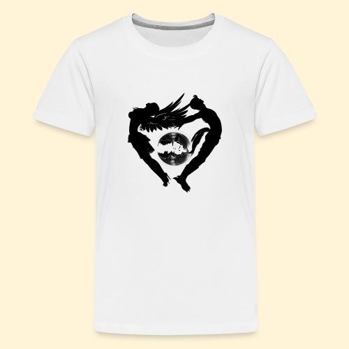 Elyo y asmodian - Camiseta premium adolescente