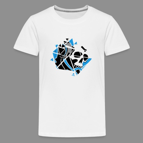 Official Logo Of The Hooded Gamer - Teenage Premium T-Shirt