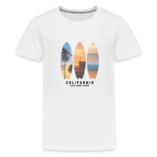 Cali Palms - Camiseta premium adolescente