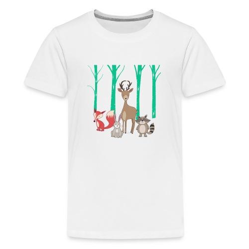Las body dziecko - Koszulka młodzieżowa Premium