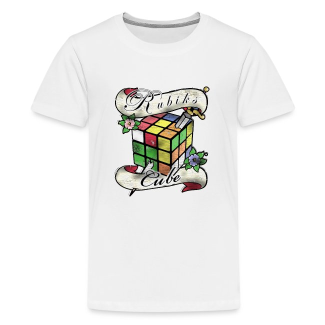 Rubik's Cube Tatoo