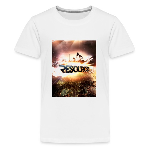 RESOURCES Splash Screen - Teenager Premium T-Shirt