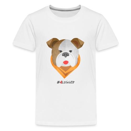 Bulldog - Maglietta Premium per ragazzi