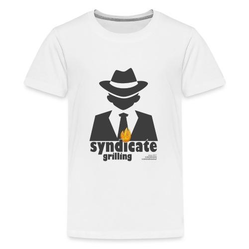 Syndicate Grilling - Mafia Grillshirt - Teenager Premium T-Shirt