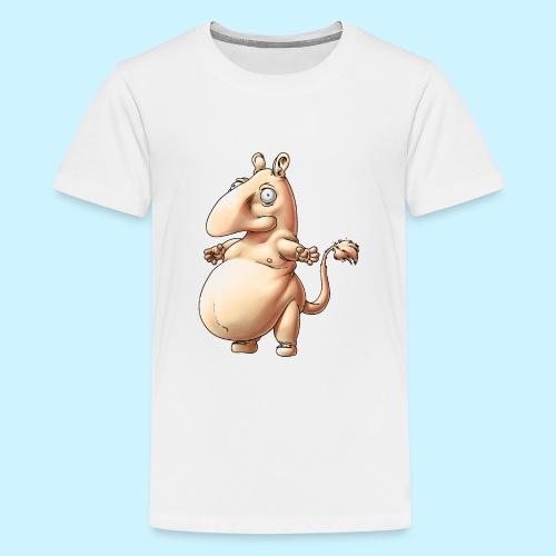 Niiskupeikko - Teinien premium t-paita