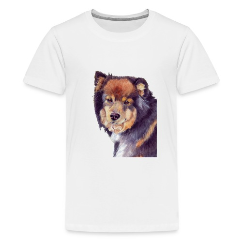 finnish lapphund - Teenager premium T-shirt