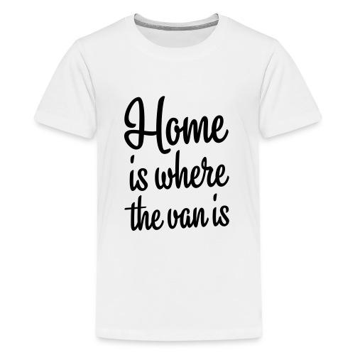 camperhome01b - Premium T-skjorte for tenåringer