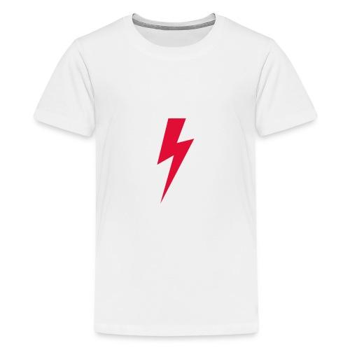 Błyskawica polannd ppro choice women rights - Koszulka młodzieżowa Premium