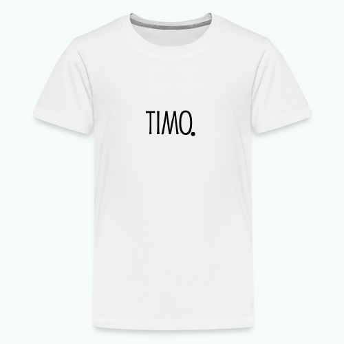 Ontwerp zonder achtergrond - Teenager Premium T-shirt