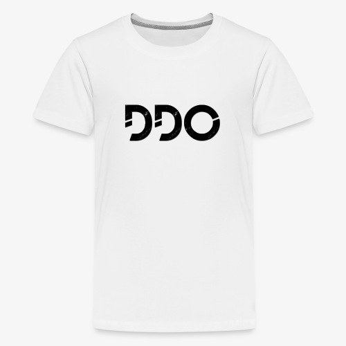 DDO in het zwart. - Teenager Premium T-shirt