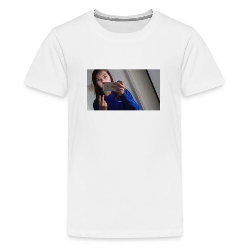 Am spiegel - Teenager Premium T-Shirt