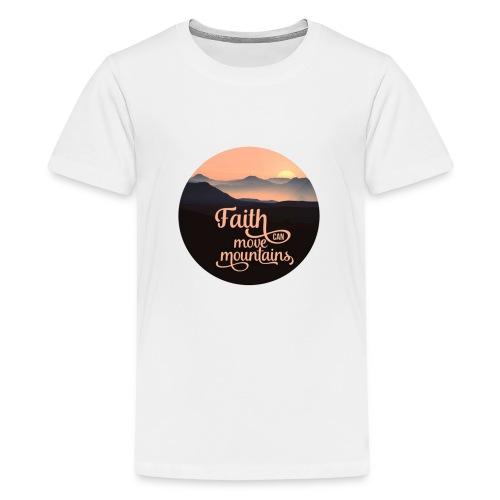 Big Mountain Gathering 2020 - Premium-T-shirt tonåring
