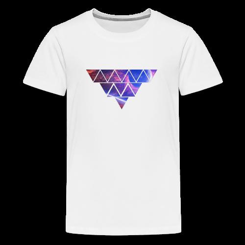 Abstract_Black_Design - Teenager Premium T-Shirt