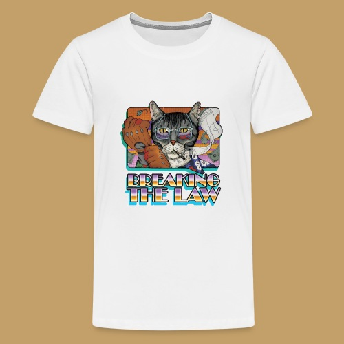 Crime Cat- Breaking the Law - Koszulka młodzieżowa Premium