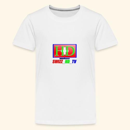 SWIZZ HD TV - Teenager Premium T-Shirt