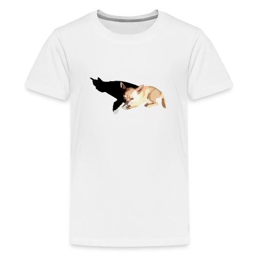 polygonpuppy - Teinien premium t-paita