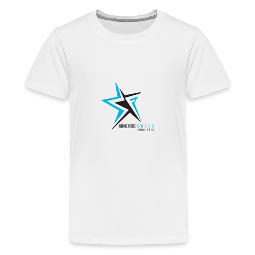 Strike Force 10 YR Logo 02 - Teenage Premium T-Shirt
