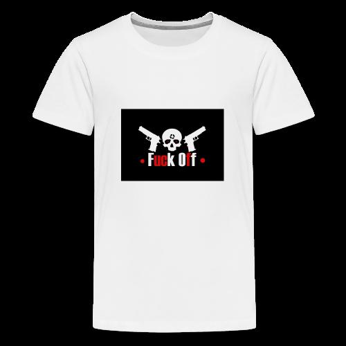 Fuck Off - Premium-T-shirt tonåring