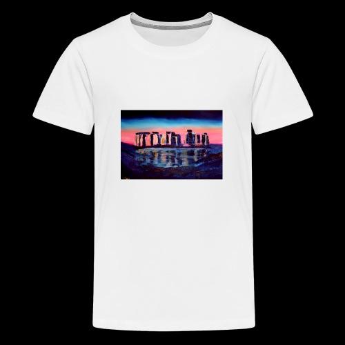 Stonehenge - Teenager Premium T-Shirt
