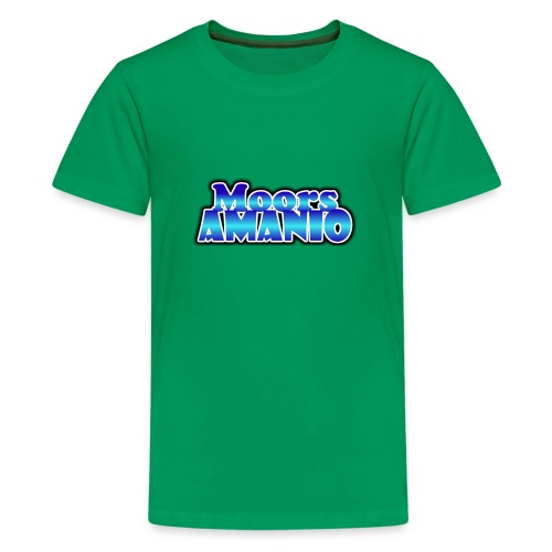 MoorsAmanioLogo - Teenager Premium T-shirt