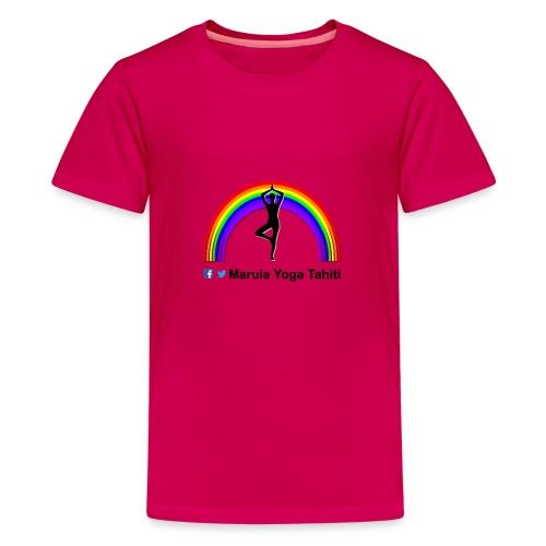 Logo de Maruia Yoga Tahiti - T-shirt Premium Ado