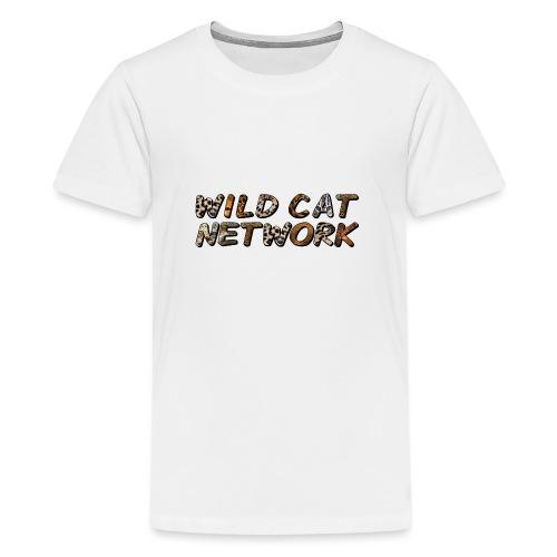 WildCatNetwork 1 - Teenager Premium T-Shirt