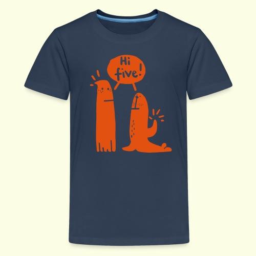 hallofuenf2 - Teenager Premium T-Shirt