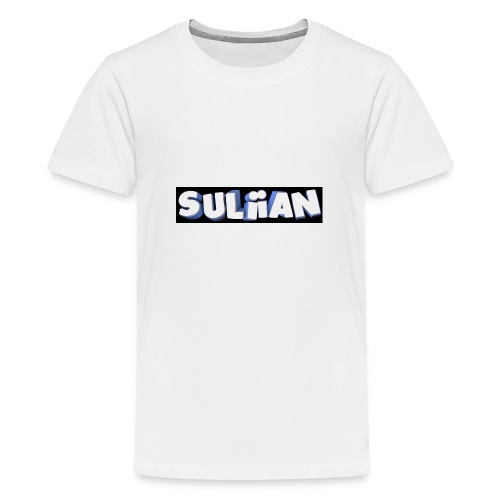 Suliian -Schrift 1 - Teenager Premium T-Shirt